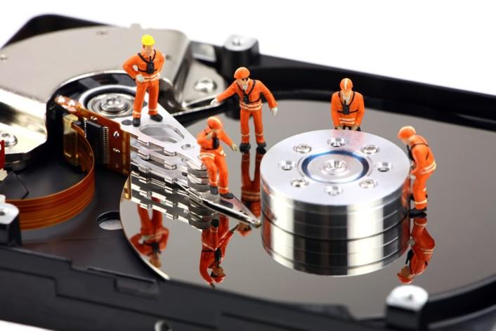ремонт жёсткого диска программа